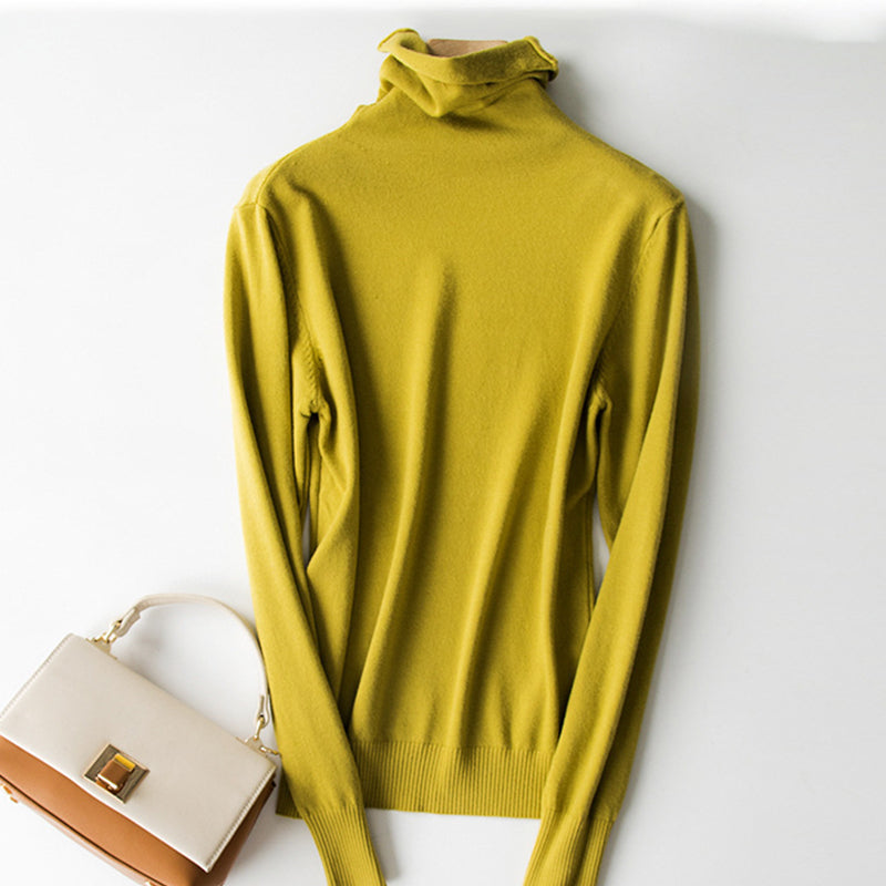 Silver Lining Turtleneck Sweater