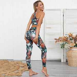 Let You Go Crop And Leggings Set