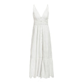 Play it Straight Cut Out Maxi Dress