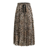 Can't Tame Me Pleated Midi Skirt