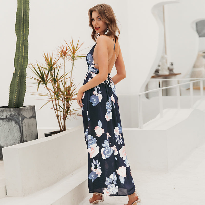 Run The Show High Slit Maxi Dress