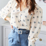 Kiss And Make Up Button Up Top
