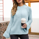 Piece Of The Pie High Neck Sweater