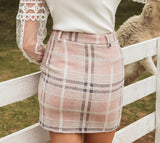 Black Forest Plaid Skirt
