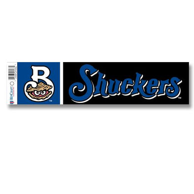 Biloxi Shuckers Sticker-Bumper Sticker