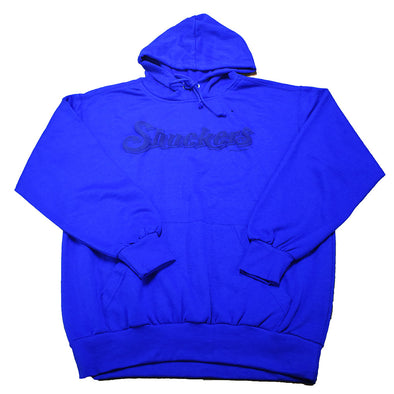 Sweatshirt-Comfort Fleece Puff Ink in Royal