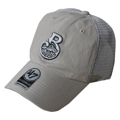 Biloxi Shuckers Hat Clean Up- Trawler with Home Logo