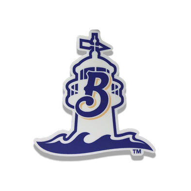 Biloxi Shuckers Decal- Alt #2 Logo Lighthouse