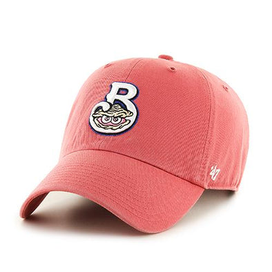 Biloxi Shuckers Hat- Clean Up Island Red