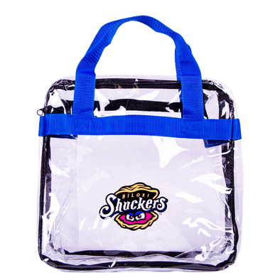 Biloxi Shuckers Bag-Clear Tote