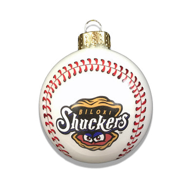 Biloxi Shuckers Ornament-Baseball