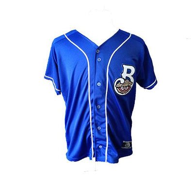 Biloxi Shuckers Jersey-Yth Royal Mesh