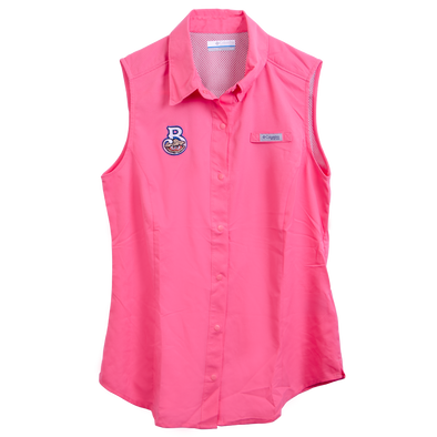 Biloxi Shuckers Tamiami-Women's Sleeveless in Lollipop