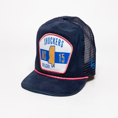 Biloxi Shuckers Hat-Uncle Charlie Snapback