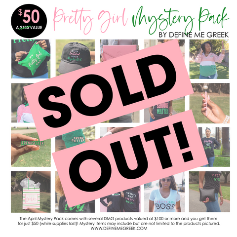 SOLD OUT!!! Pretty Girl Mystery Pack - April