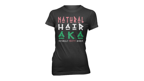 Natural Hair AKA | CREW NECK | FITTED