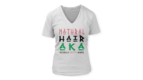 Natural Hair AKA | V-NECK | FITTED