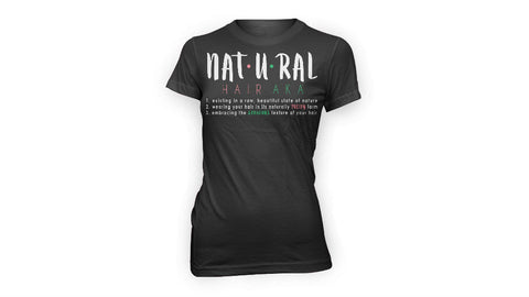 Natural Hair AKA Definition Tee | FITTED