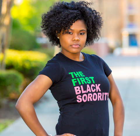The First Black Sorority tee