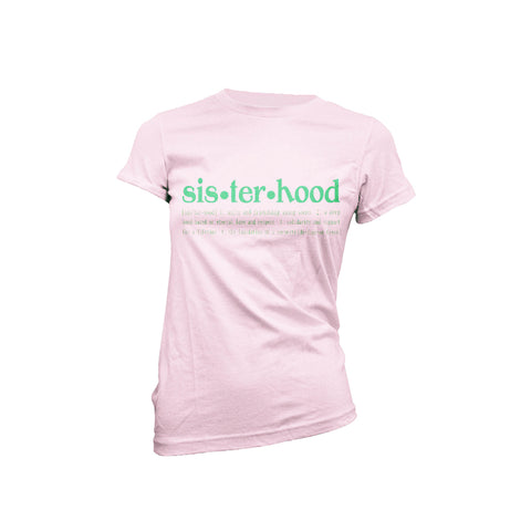 Sisterhood 1908 - Light Pink - CREW NECK