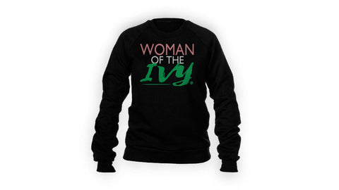 Woman of the Ivy sweatshirt