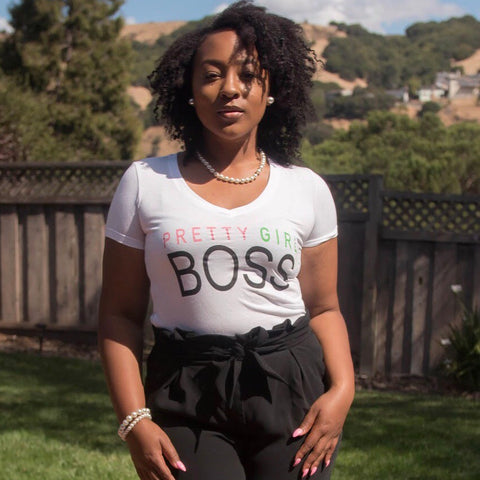 Pretty Girl Boss tee