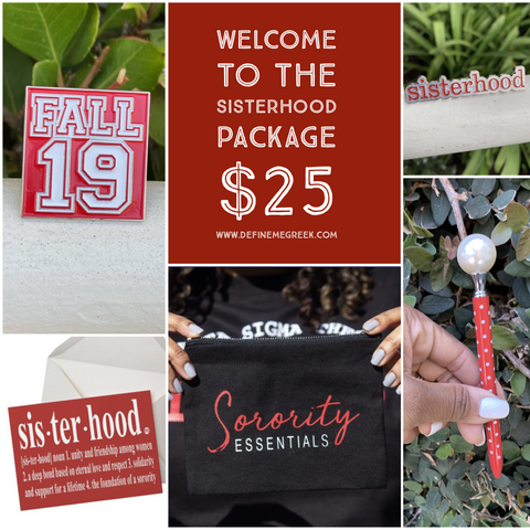 DMG Welcome to the Sisterhood Package #2 - red