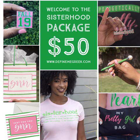DMG Welcome to the Sisterhood Package (Fall 2019) #1