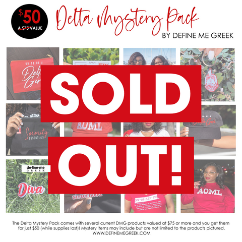 SOLD OUT!!! Delta Mystery Pack