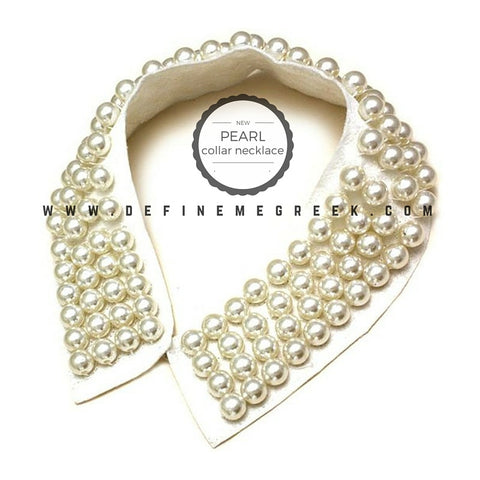 Pearl Collar Necklace - SOLD OUT!