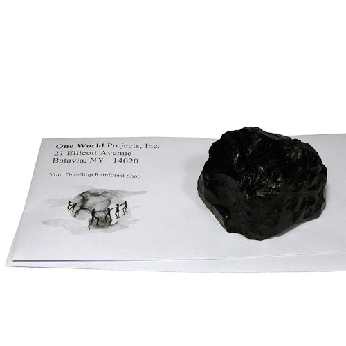 Lump of Coal Paperweight from Colombia