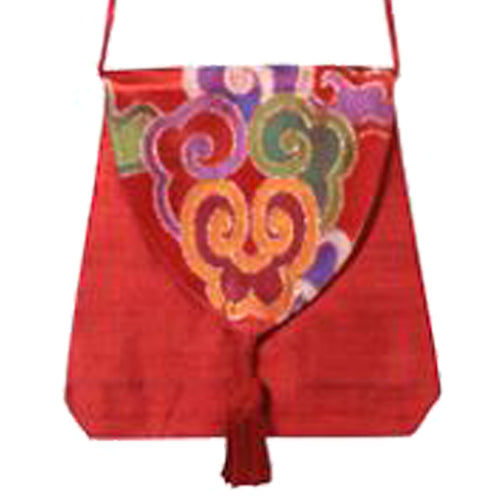 Small Silk Brocade Shoulder Bag from India