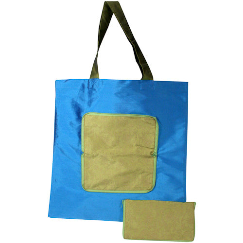 Taffeta Shopping Bag in Pouch from India