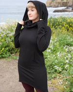 Load image into Gallery viewer, Cowl Neck Sweater Dress