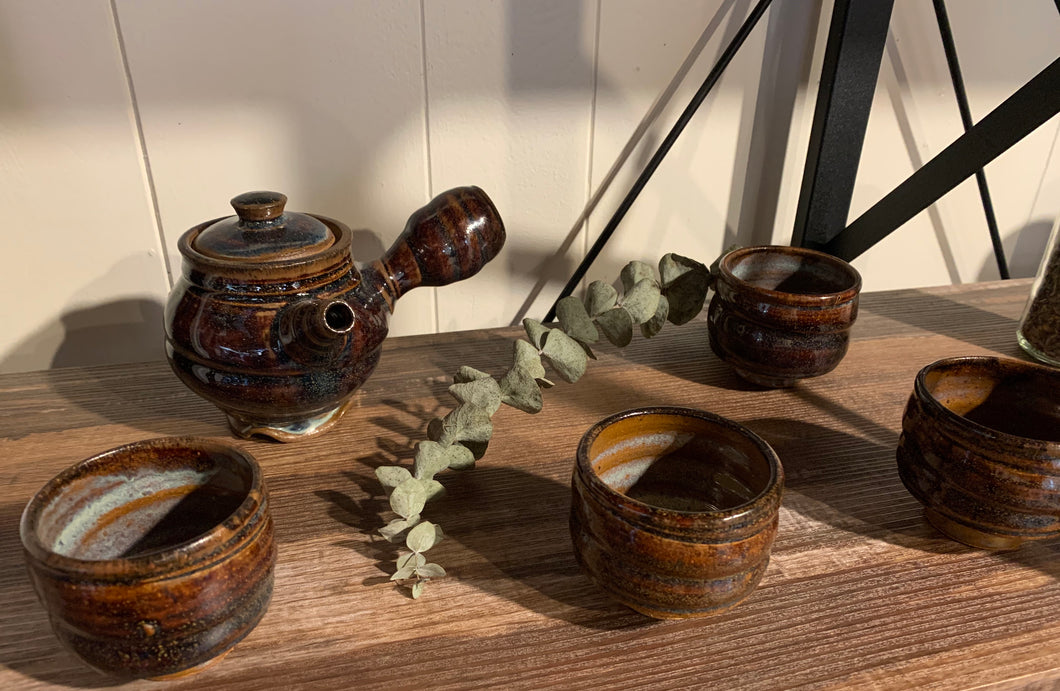 Handmade Ceramic Tea Set
