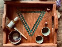 Load image into Gallery viewer, Handmade Redwood Ritual Tray