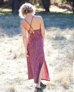 Roxy Striped Maxi Dress ~ Organic Cotton