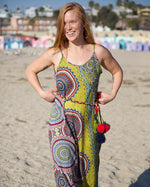 Load image into Gallery viewer, Retro-print Maxi Dress