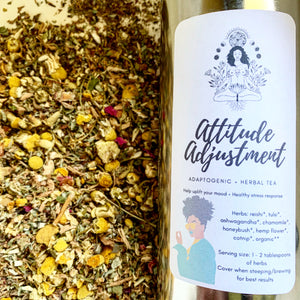 Attitude Adjustment ~ Adaptogenic Tea