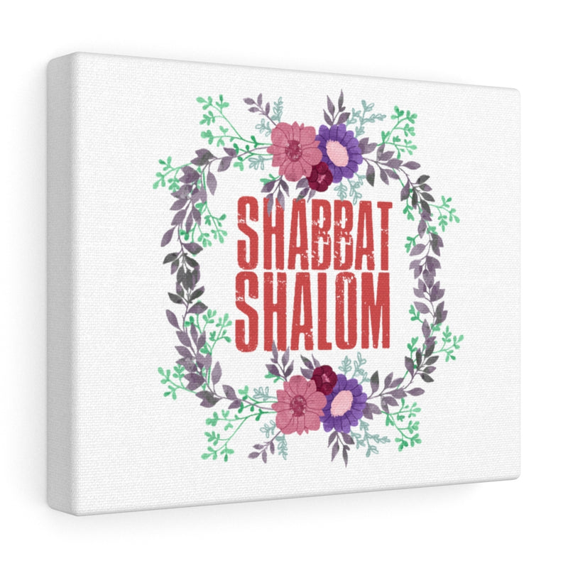 Shabbat Shalom Canvas Gallery Wraps