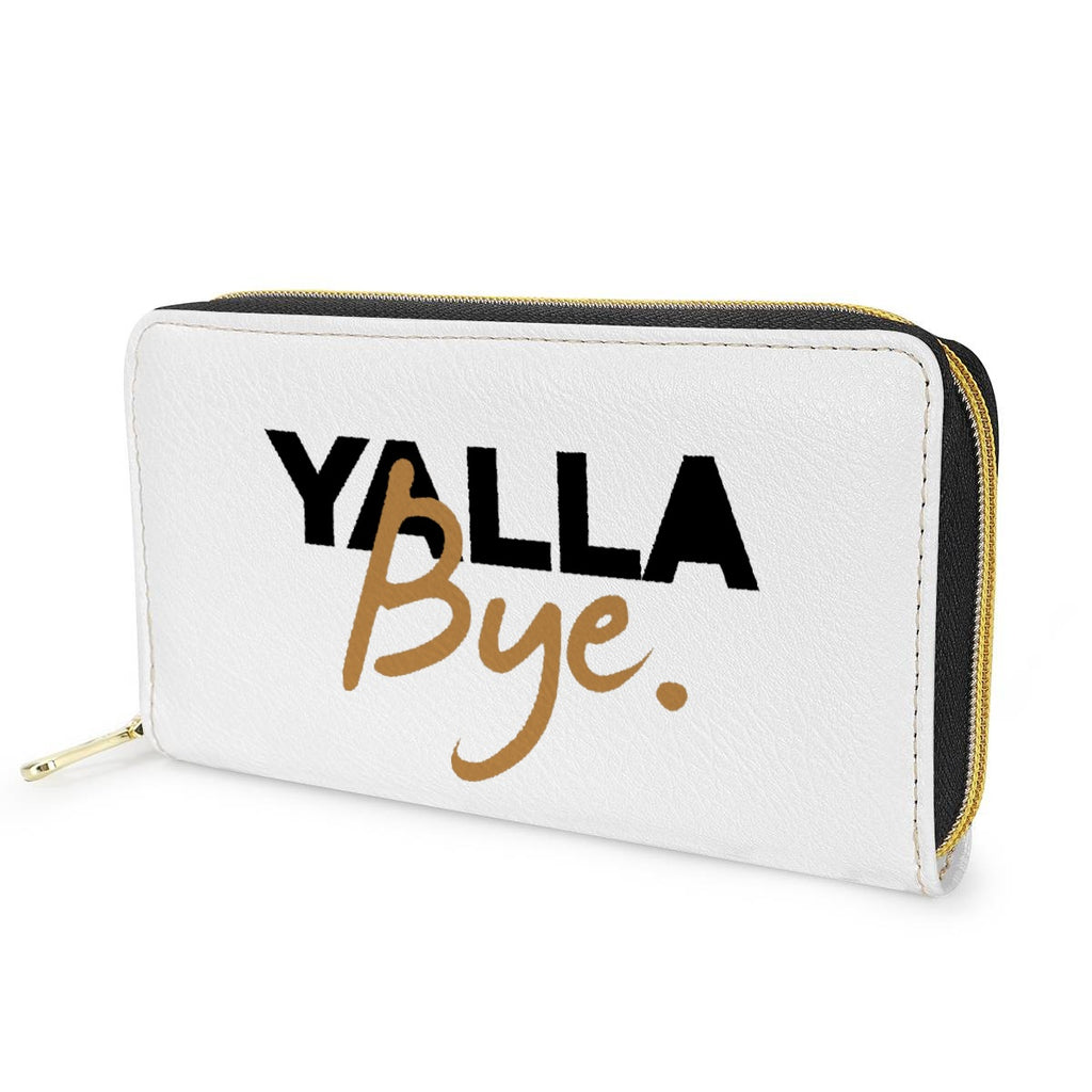 Yalla Bye Wallet Zipper Purse - JewNana