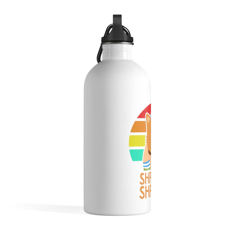 Shabbat Shalom Stainless Steel Water Bottle