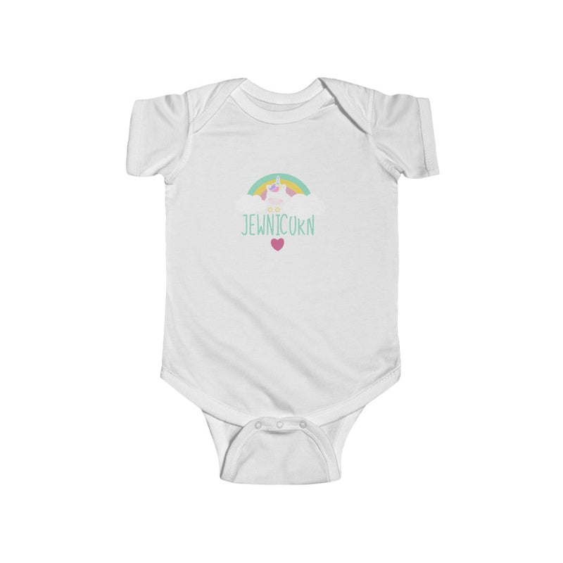 Jewnicorn Infant Fine Jersey Bodysuit