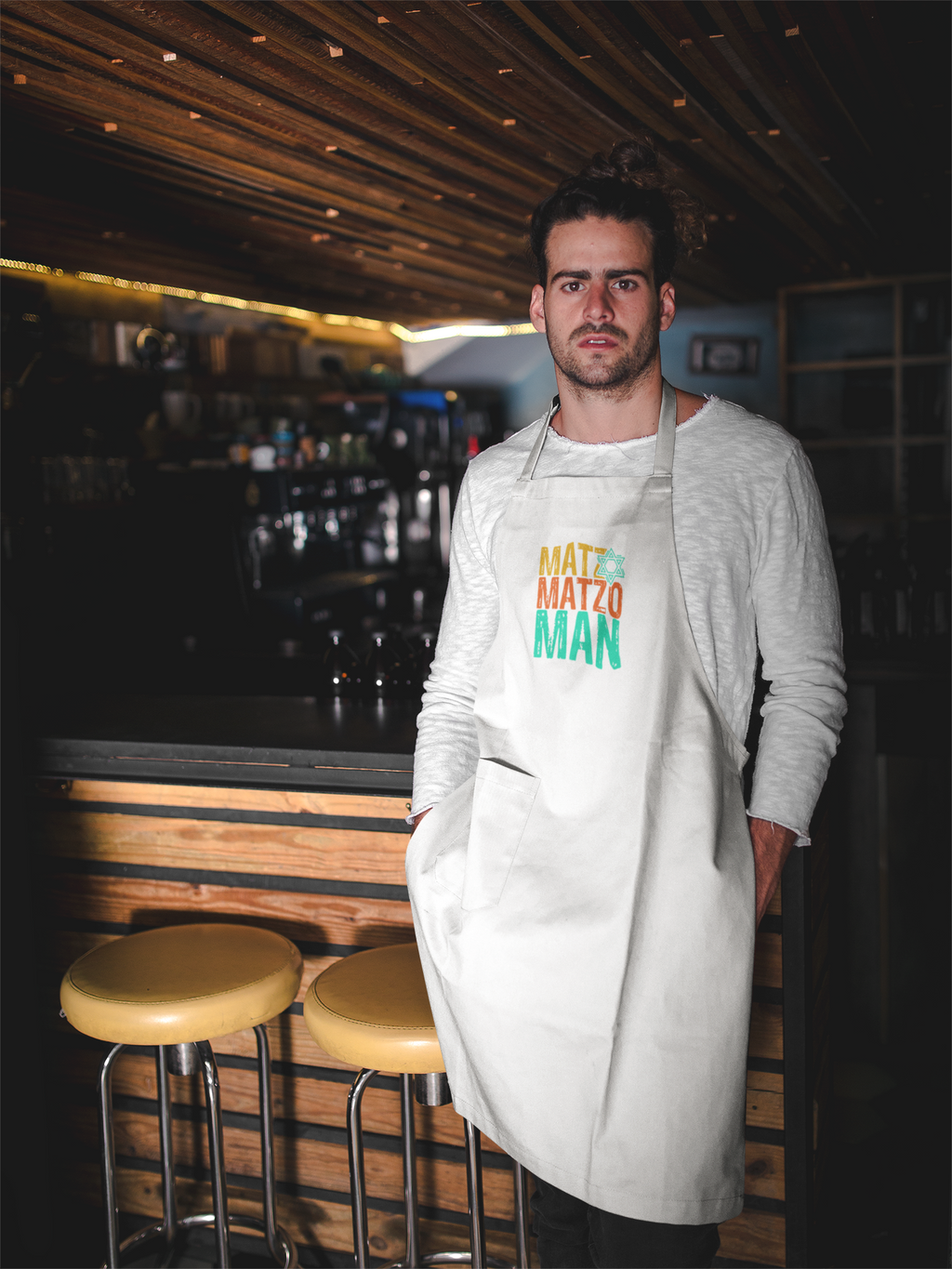 Matzo Man Adjustable Apron - JewNana