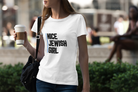 Racism Isn't Kosher Fitted Cotton/Poly T-Shirt
