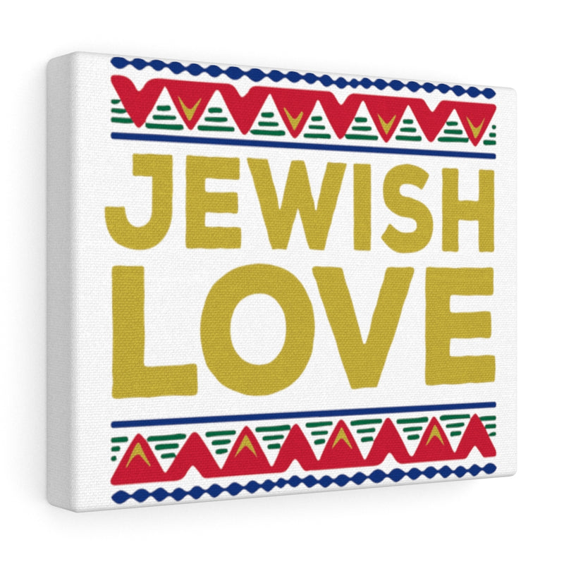 Jewish Love Canvas Gallery Wraps