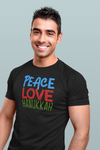 Peace Love Hanukkah Men's T-Shirt