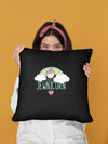 "Jewnicorn by Riki Throw Pillow Cover 18"" x 18"" - JewNana"