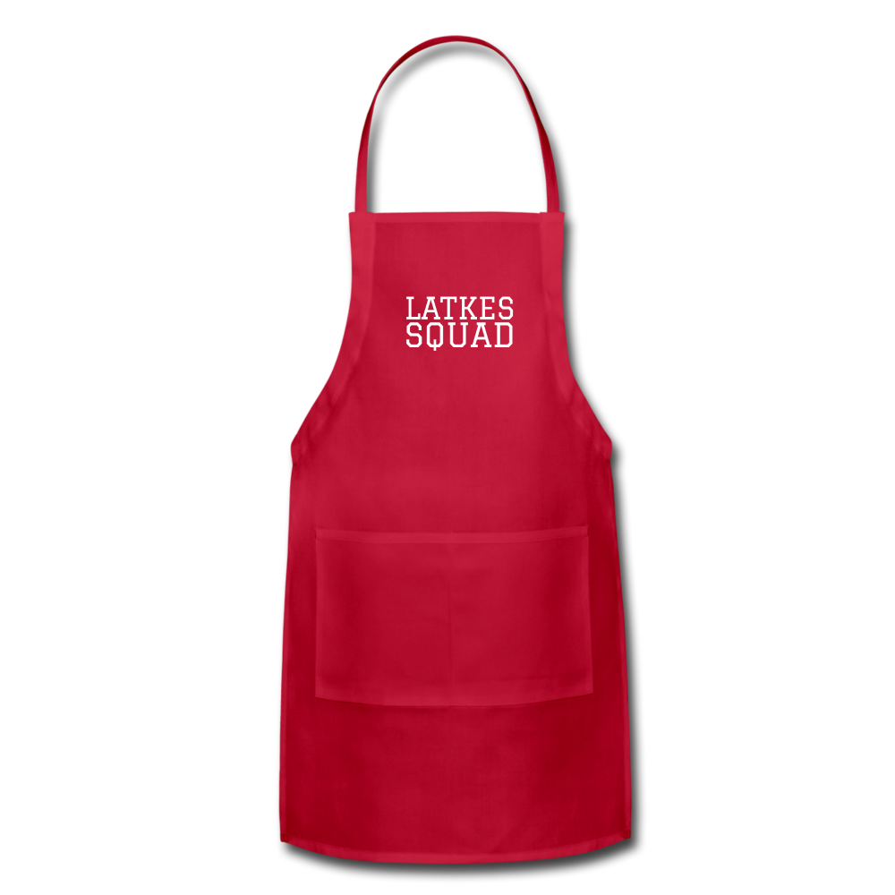 Latkes Squad Adjustable Apron - JewNana