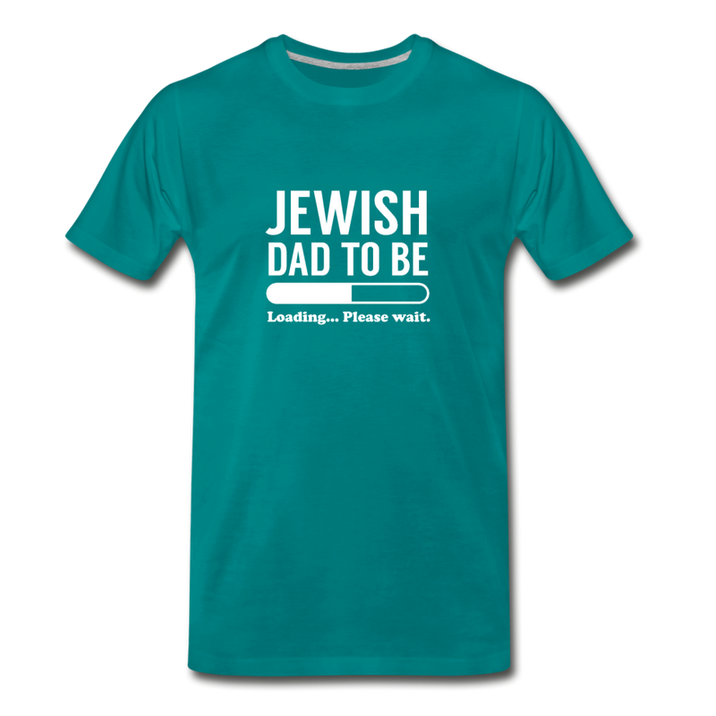 Jewish Dad To Be Men's Premium T-Shirt - JewNana